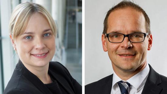 Grant Hendrik Tonne und Marja Liisa Völlers