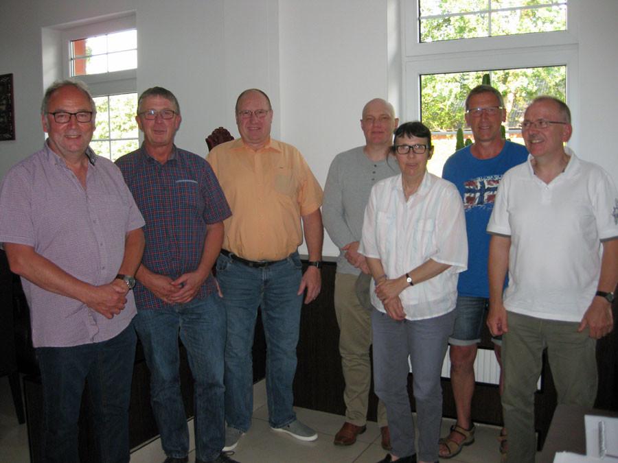 SPD-Kreistagsmitglieder und Mitglieder des Beirats