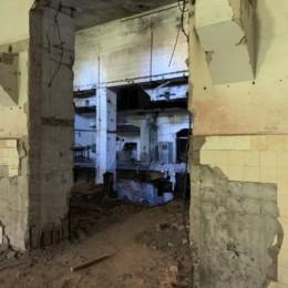 Blick in die Generatorenhalle des früheren unterirdischen Kraftwerks
