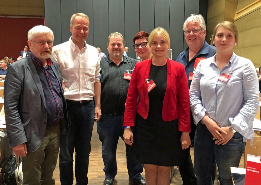 Gruppenbild vom Bezirksparteitag