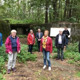 Mitglieder des SPD-Unterbezirksvorstands und der SPD-Kreistagsfraktion besuchen gemeinsam mit Martin Guse das Gelände der Pulverfabrik Liebenau