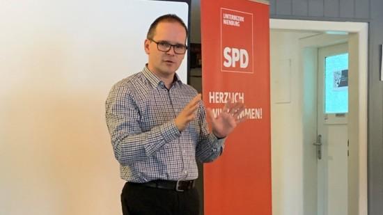 Grant Hendrik Tonne vertritt den Landkreis Nienburg für die SPD im Landtag