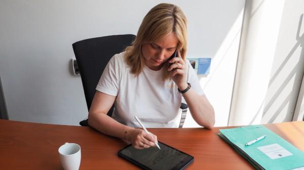 Marja-Liisa Völlers bietet in der kommenden Woche erneut zwei Telefonsprechstunden an