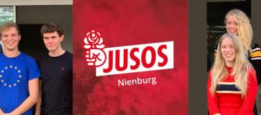 Jusos mit Juso-Logo