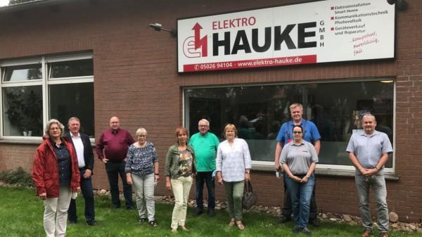 SPD Kreistagsfraktion besucht Elektro-Hauke GmbH