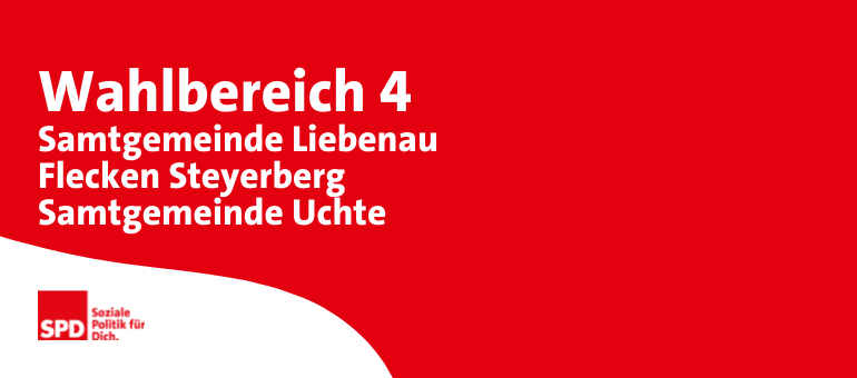 Kreistagswahl Wahlbereich 4: Samtgemeinde Liebenau, Flecken Steyerberg, Samtgemeinde Uchte